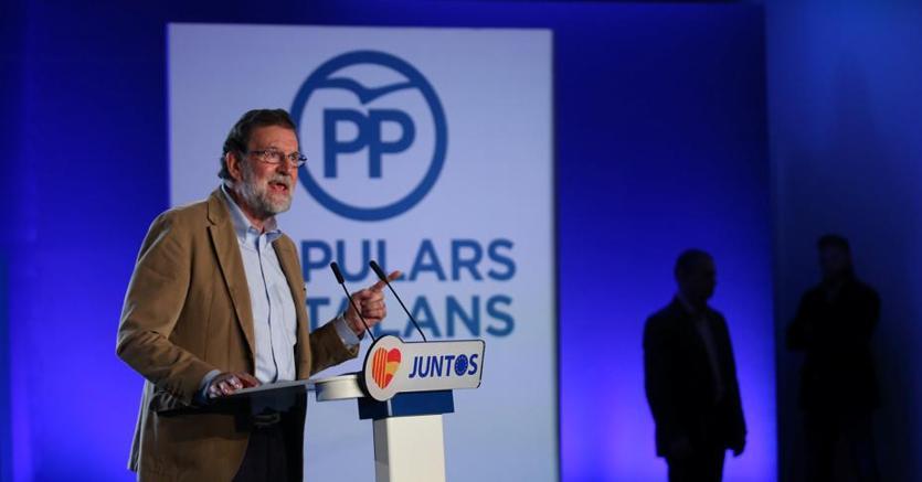 Il premier Rajoy oggi a Barcellona  a un incontro del partito popolare catalano